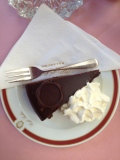 Sacher torte at the Salzburg Sacher Hotel!