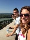 Overlooking the Danube.