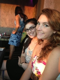 Hannah and Adri!