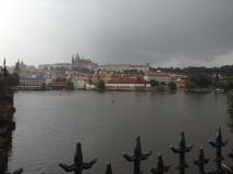 The Vltava River was lovely.