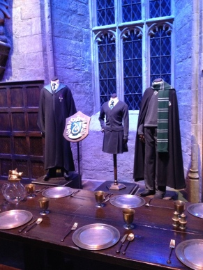 Slytherin section.