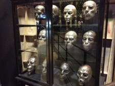 Each Death Eater had their own custom mask.