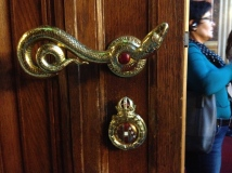 Unrelated: the door handles in this building were sweet!