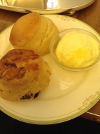 Two lovely scones.