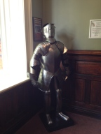 A knight in shining armor!