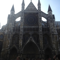 Westminster Abbey. Huge. Gorgeous. Stunning!