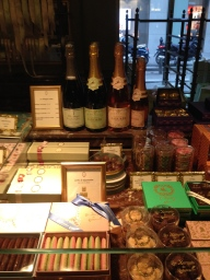You can buy Ladurée sparkling wine.