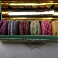 ...and they are so beautiful! Also tasty. My favorite was the pistachio.