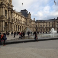 The Louvre: just like a palace.