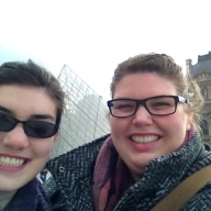 Selfies with the Louvre!