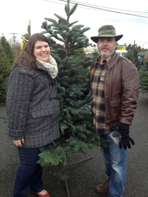 We found our perfect tree!