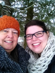 But a wintery walk was just what we needed to brighten our spirits.