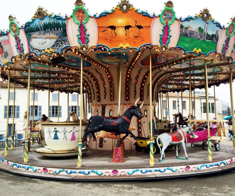 Carousel in St Remy