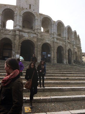 The amphitheatre is nearly 2000 years old.