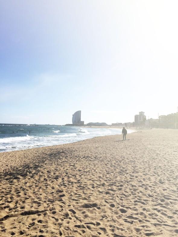 beach loner