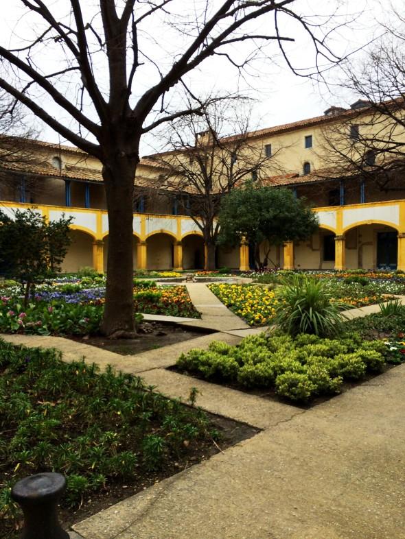 hospital garden