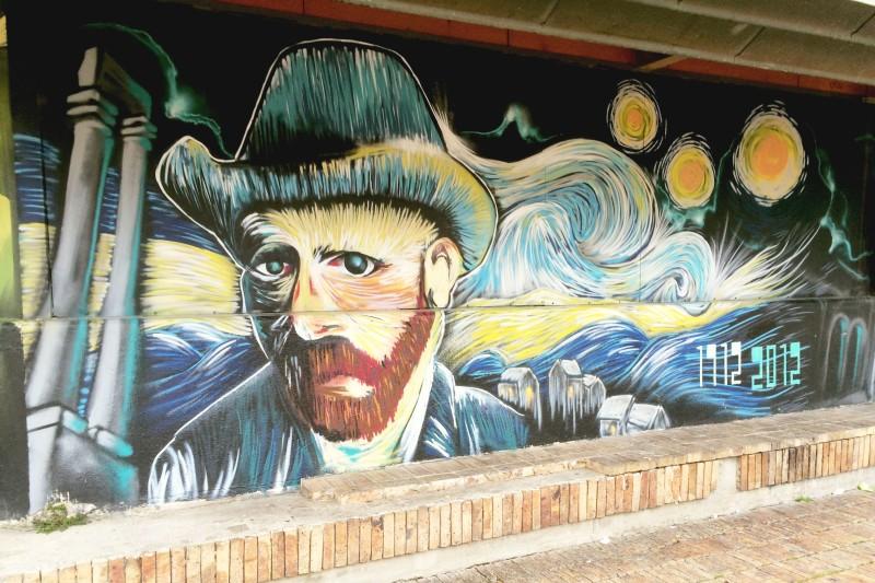 Van Gogh in the style of Van Gogh.